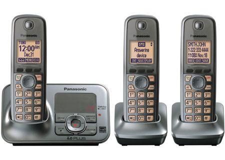 Panasonic - KX-TG4133M  - Cordless Phones with Answering Machines