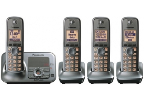 Panasonic - KX-TG4134M - Cordless Phones