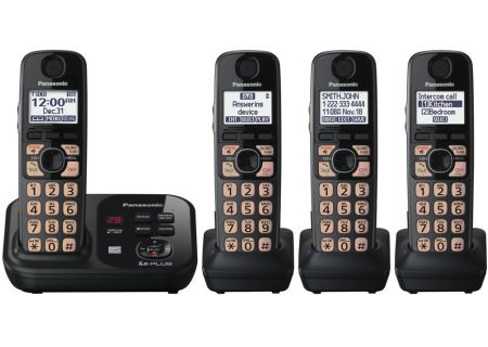 Panasonic - KX-TG4734B - Cordless Phones