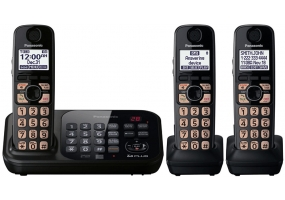 Panasonic - KX-TG4743B - Cordless Phones