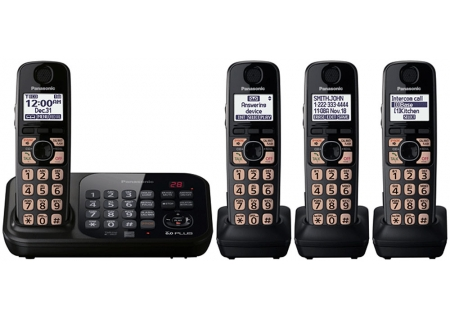 Panasonic - KX-TG4744B - Cordless Phones