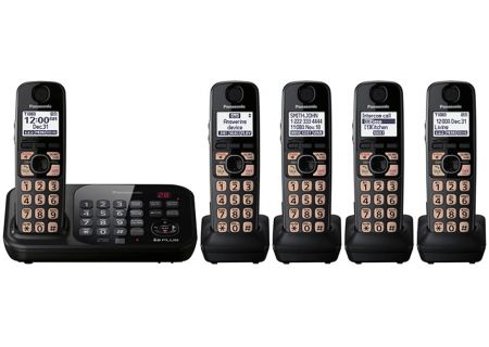 Panasonic - KX-TG4745B - Cordless Phones