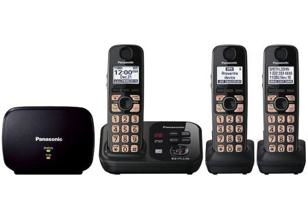 Panasonic - KX-TG4753B - Cordless Phones