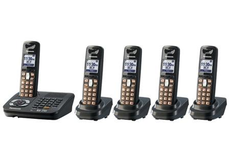 Panasonic - KX-TG6445T - Cordless Phones