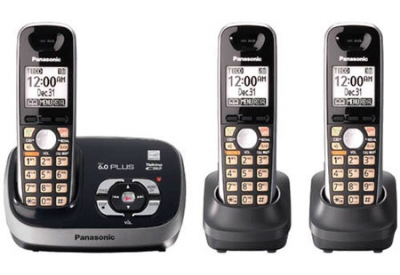 Panasonic - KX-TG6533B - Cordless Phones