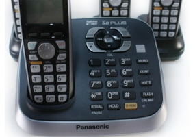 Panasonic - KX-TG6544B - Cordless Phones