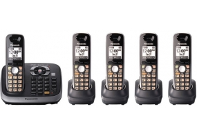 Panasonic - KX-TG6545B - Cordless Phones