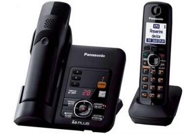Panasonic - KX-TG6632B - Cordless Phones with Answering Machines