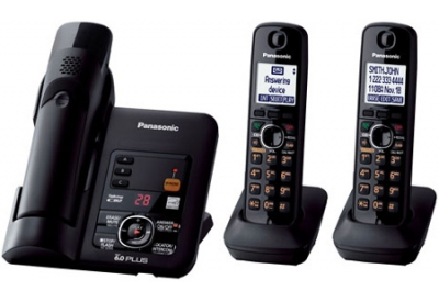 Panasonic - KX-TG6633B - Cordless Phones