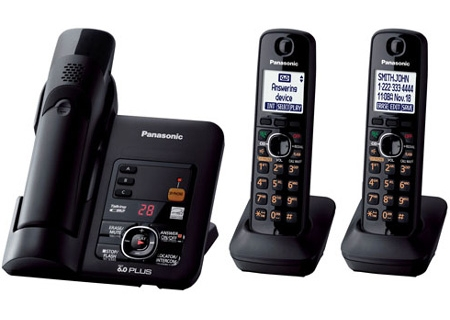 Panasonic - KX-TG6633B - Cordless Phones