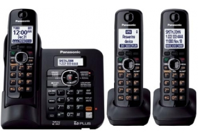 Panasonic - KX-TG6643B - Cordless Phones