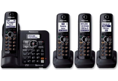 Panasonic - KX-TG6644B - Cordless Phones