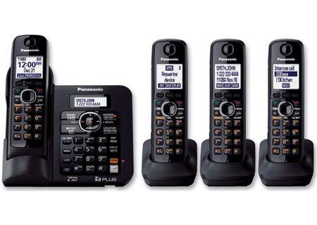 Panasonic - KX-TG6644B - Cordless Phones