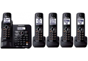Panasonic - KX-TG6645B - Cordless Phones