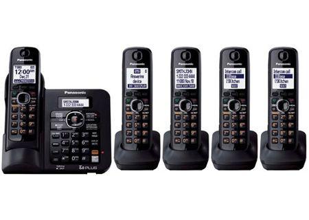 Panasonic - KX-TG6645B - Cordless Phones