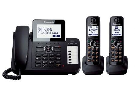 Panasonic - KX-TG6672B - Corded Phones
