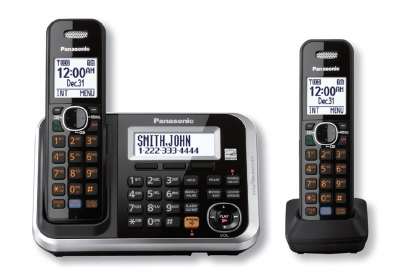 Panasonic - KX-TG6842B - Cordless Phones