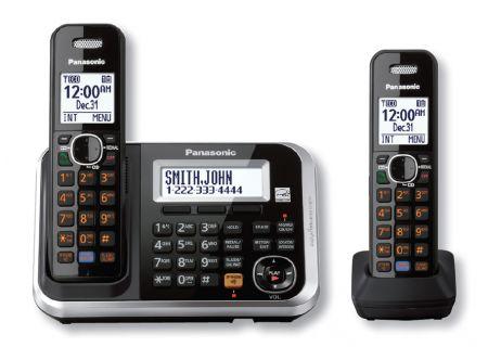 Panasonic - KX-TG6842B - Cordless Phones