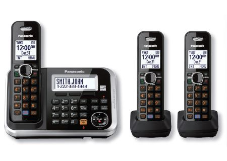 Panasonic - KX-TG6843B - Cordless Phones