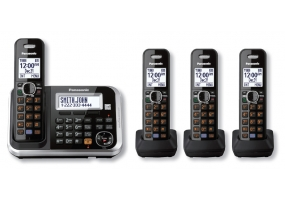 Panasonic - KX-TG6844B - Cordless Phones