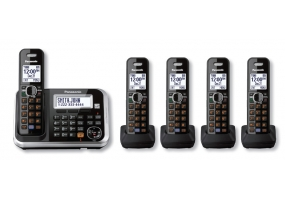 Panasonic - KX-TG6845B - Cordless Phones