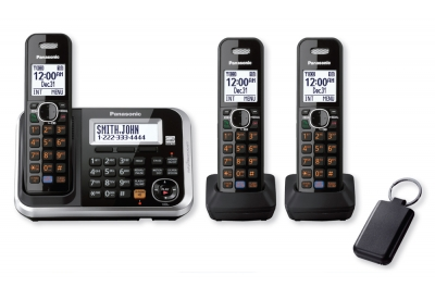 Panasonic - KX-TG6873B - Cordless Phones