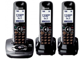 Panasonic - KX-TG7533B - Cordless Phones