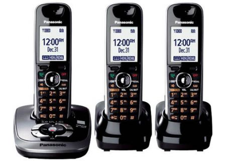 Panasonic - KX-TG7533B - Cordless Phones
