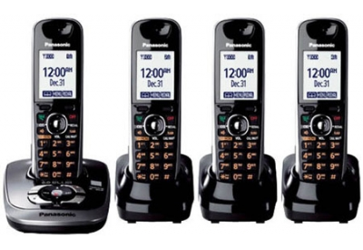 Panasonic - KX-TG7534B - Cordless Phones