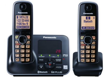 Panasonic - KX-TG7622B - Cordless Phones