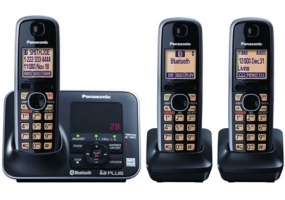 Panasonic - KX-TG7623B - Cordless Phones
