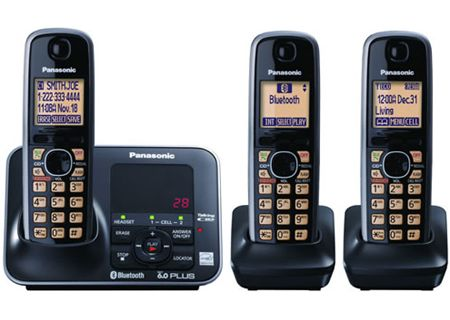 Panasonic - KX-TG7623B - Cordless Phones