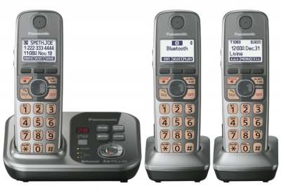 Panasonic - KX-TG7733S - Cordless Phones