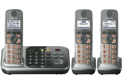 Panasonic - KX-TG7743S - Cordless Phones