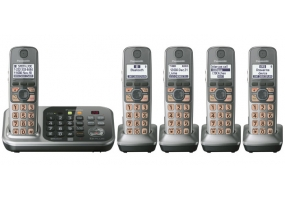 Panasonic - KX-TG7745S - Cordless Phones