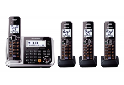 Panasonic - KX-TG7874S - Cordless Phones