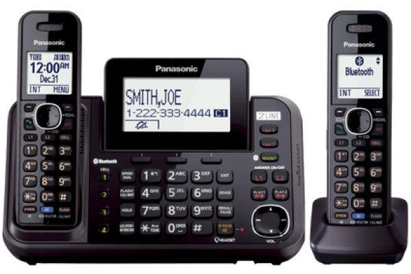Large image of Panasonic 2-Line Bluetooth Cellular Handsets - KX-TG9542B