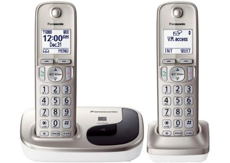Panasonic - KX-TGD212N - Cordless Phones