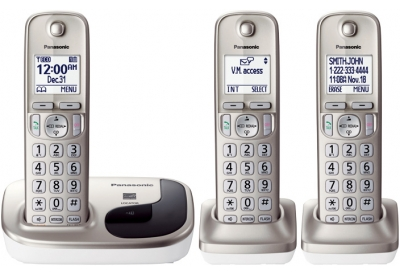 Panasonic - KX-TGD213N - Cordless Phones
