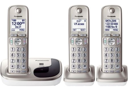 Panasonic - KX-TGD213N - Cordless Phones