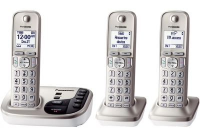 Panasonic - KX-TGD223N - Cordless Phones