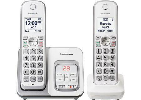 Panasonic - KX-TGD532W - Cordless Phones
