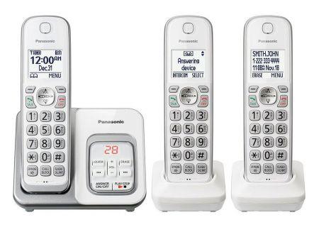 Panasonic - KX-TGD533W - Cordless Phones