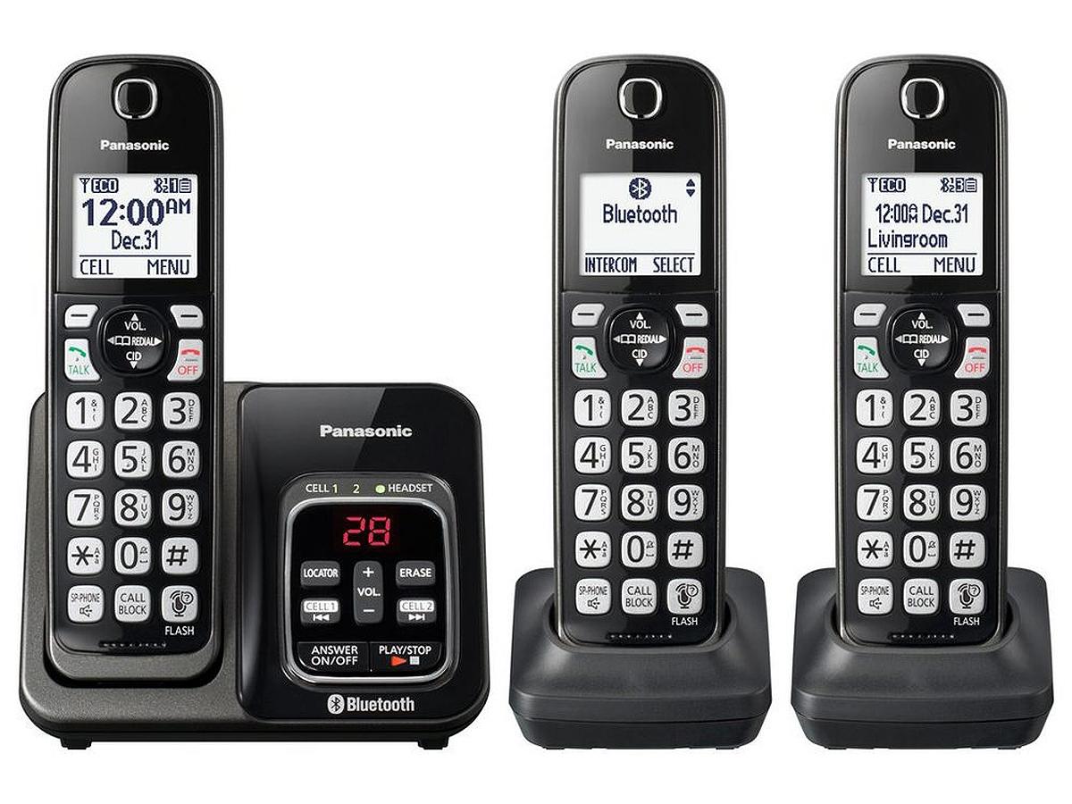 Panasonic Link2Cell Bluetooth Cordless Phone - KX-TGD563M
