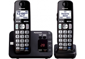 Panasonic - KX-TGE232B - Cordless Phones