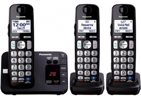 Panasonic - KX-TGE233B - Cordless Phones
