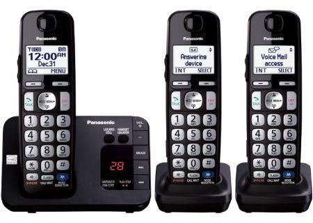 Panasonic - KX-TGE233B - Cordless Phones