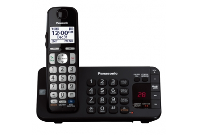 Panasonic - KX-TGE240B - Cordless Phones