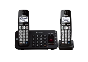 Panasonic - KX-TGE242B - Cordless Phones