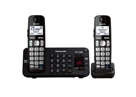 Panasonic - KX-TGE242B - Cordless Phones